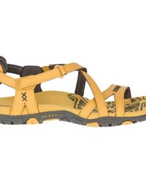 Žlté topánky Merrell