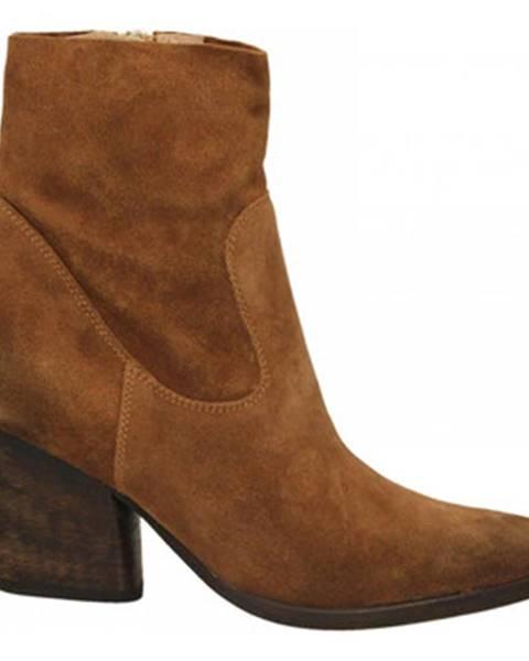 Hnedé topánky Carmens Padova