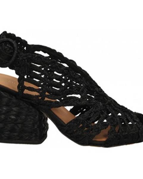 Čierne topánky Paloma Barcelò