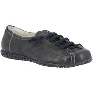 Derbie Leonardo Shoes  1269PINTA BLU