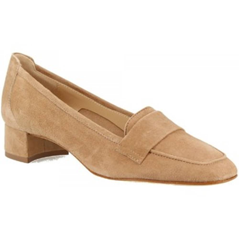 Leonardo Shoes Mokasíny Leonardo Shoes  1324 CAMOSCIO BISCOTTO