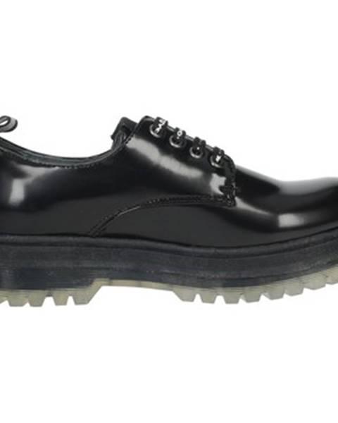 Čierne topánky GaËlle Paris