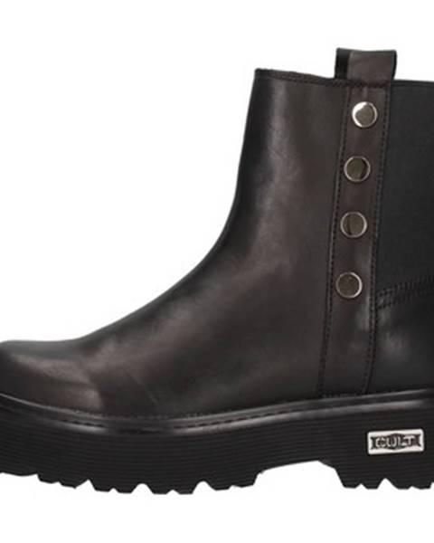 Čierne topánky Cult