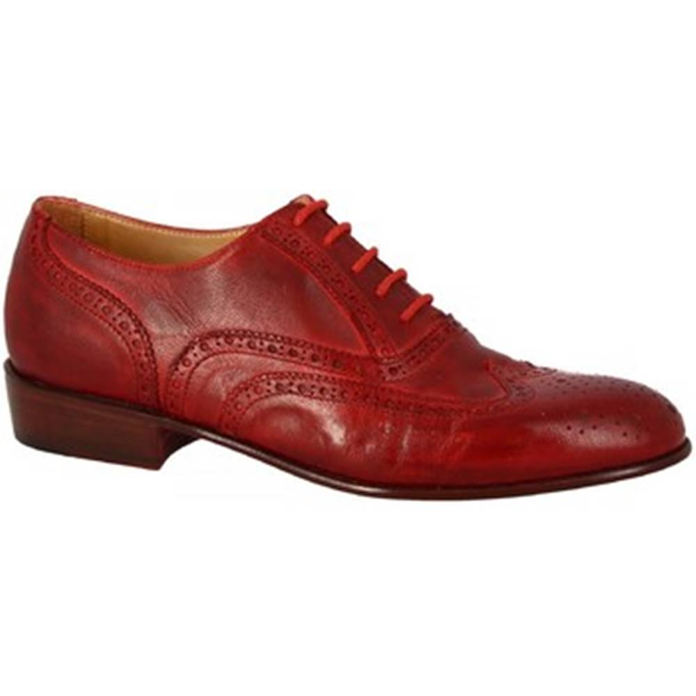 Leonardo Shoes Derbie Leonardo Shoes  PINA 037 ROSSO