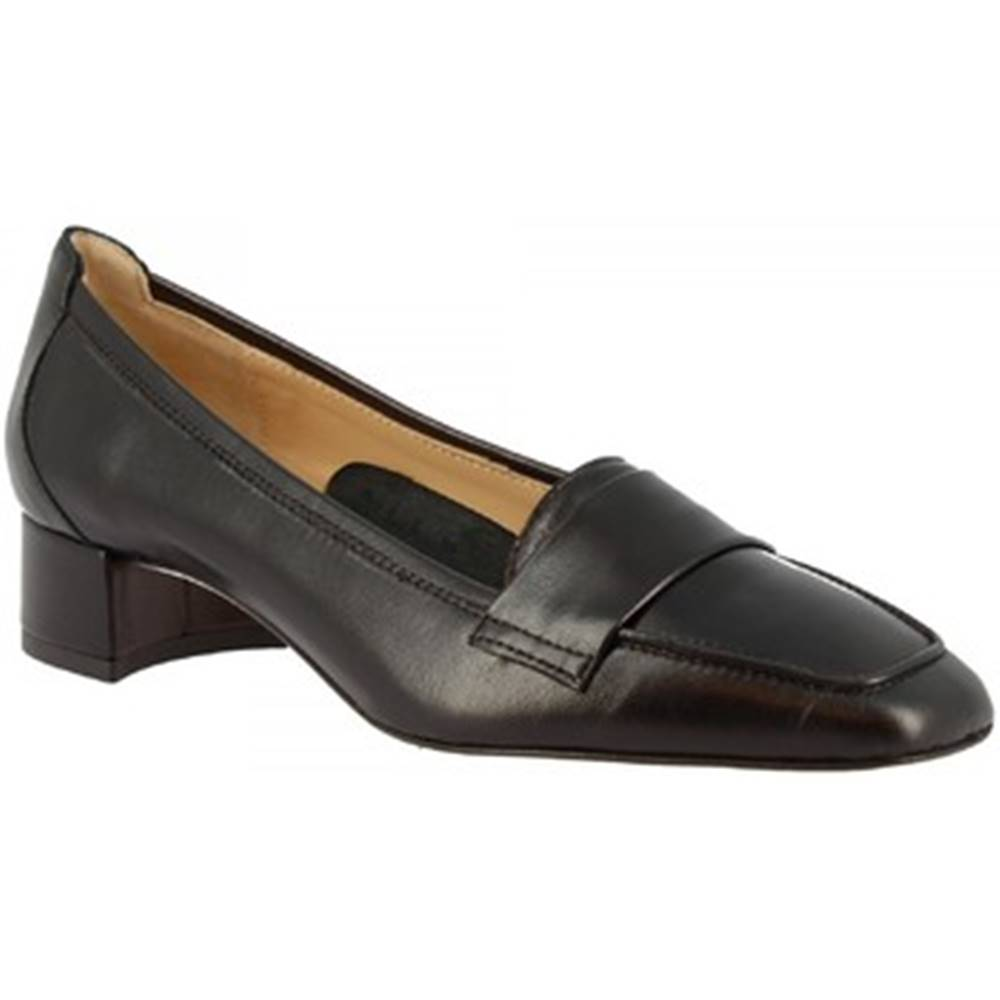 Leonardo Shoes Lodičky Leonardo Shoes  1324 NAPPA NERA