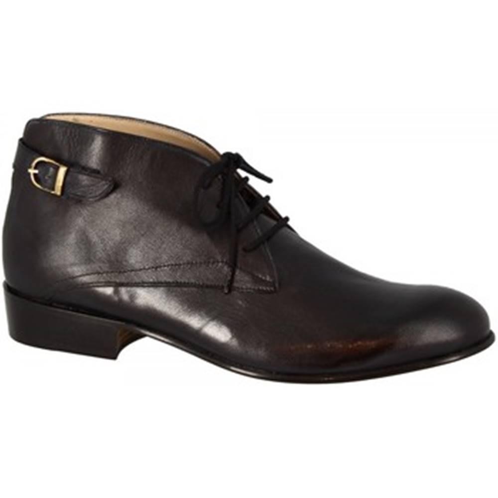 Leonardo Shoes Nízke čižmy Leonardo Shoes  PINA 045 NERO