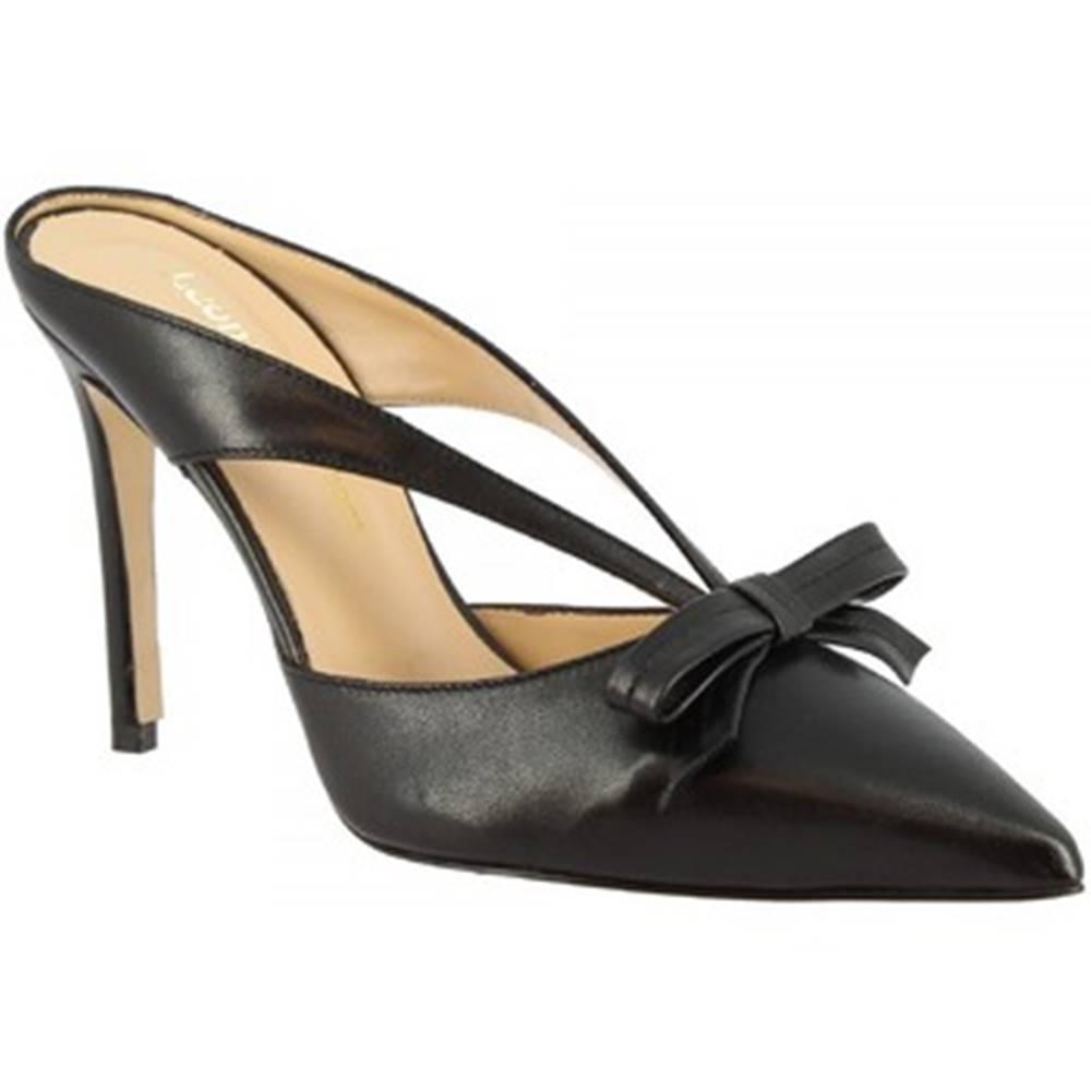 Leonardo Shoes Sandále Leonardo Shoes  1333 NAPPA NERA