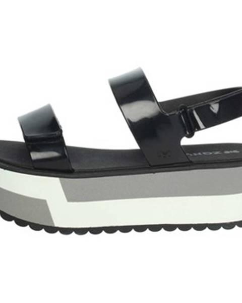 Čierne topánky Zaxy