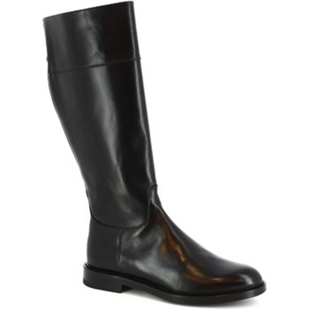 Leonardo Shoes Čižmy do mesta Leonardo Shoes  9225/19 VITELLO NERO