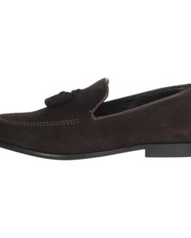 Hnedé topánky Antony Sander