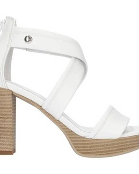 Biele topánky Nero Giardini