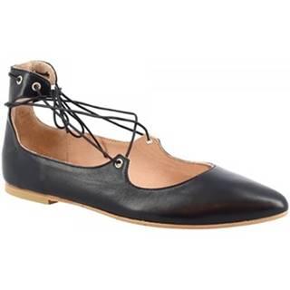 Balerínky/Babies Leonardo Shoes  117-30 NAPPA BLU