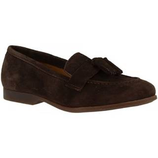 Mokasíny Leonardo Shoes  TOR02 VELUR TM
