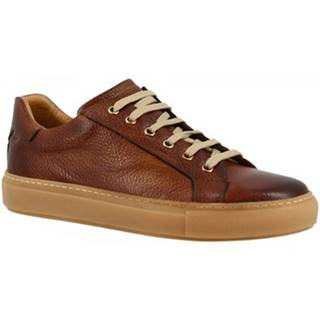 Nízke tenisky Leonardo Shoes  9585E20 TOM ALCE BRANDY