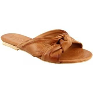 Sandále Leonardo Shoes  PC139 CAPRA CUOIO_