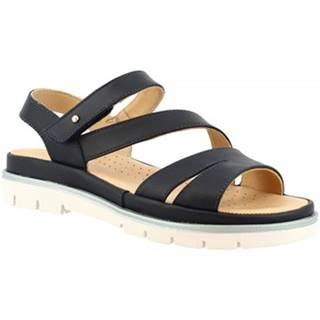 Sandále Leonardo Shoes  VI-24 BLEU