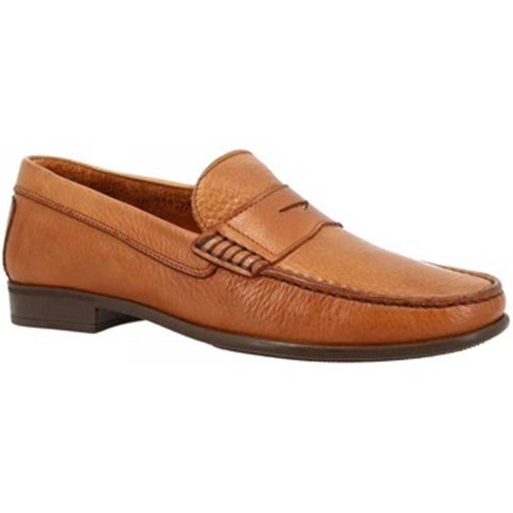 Leonardo Shoes Mokasíny Leonardo Shoes  851 MOUSSE TM