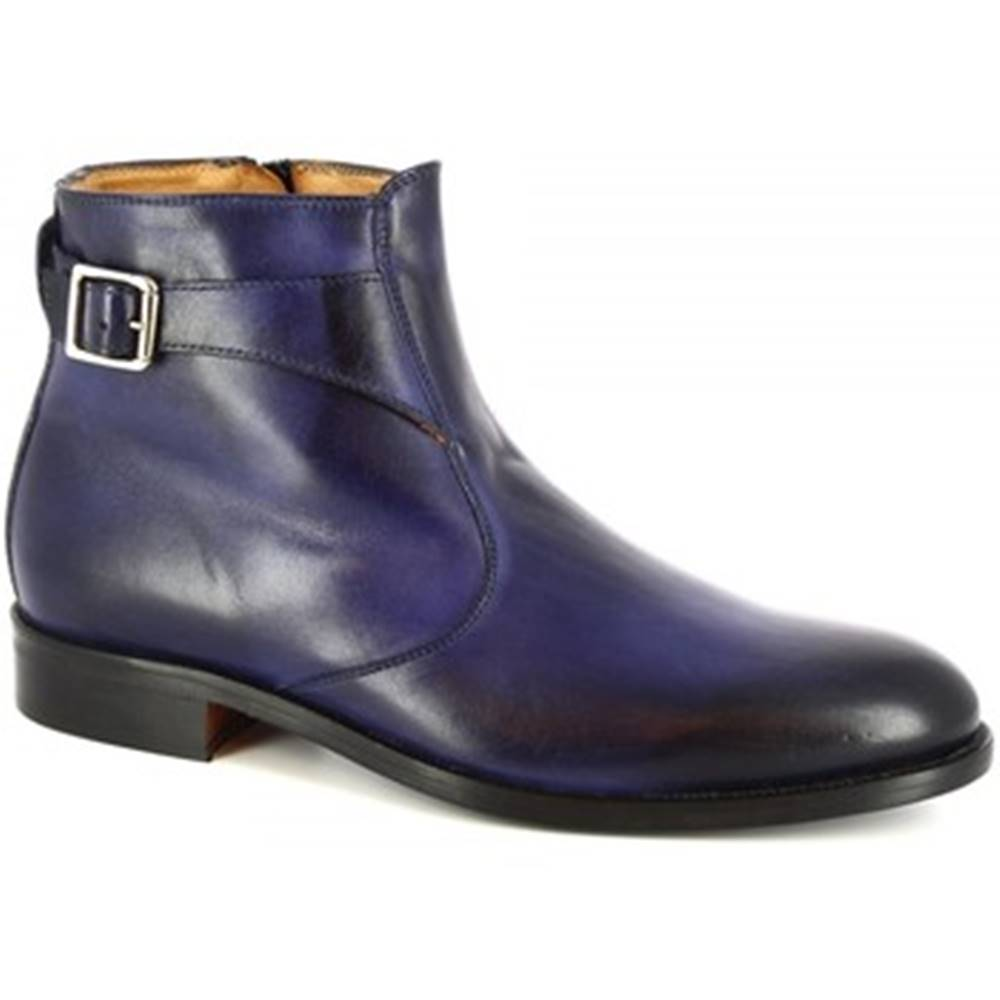 Leonardo Shoes Polokozačky Leonardo Shoes  07034/FORMA 40 GOLF NOTTE