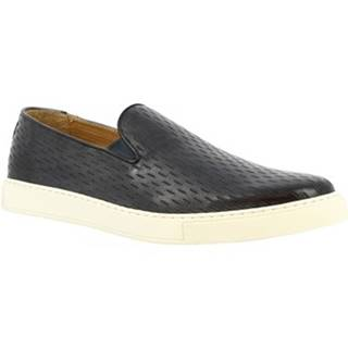 Nízke tenisky Leonardo Shoes  9620E20 SIERRA DELAVE CENERE