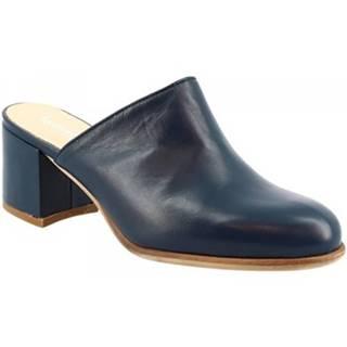 Sandále Leonardo Shoes  8031DF50 NAPPA BLU