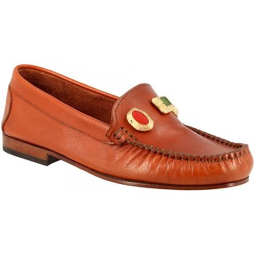 Leonardo Shoes Sandále Leonardo Shoes  558 VITELLO CUOIO
