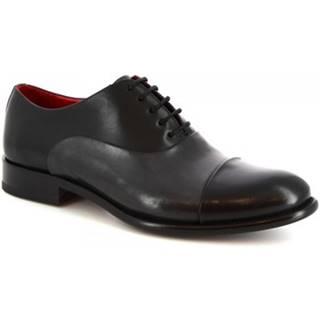 Derbie Leonardo Shoes  7658E20 TOM MONTECARLO NERO