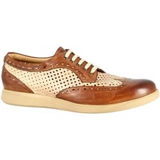 Derbie Leonardo Shoes  7797 TOM CAPRI AV BRANDY BEIGE