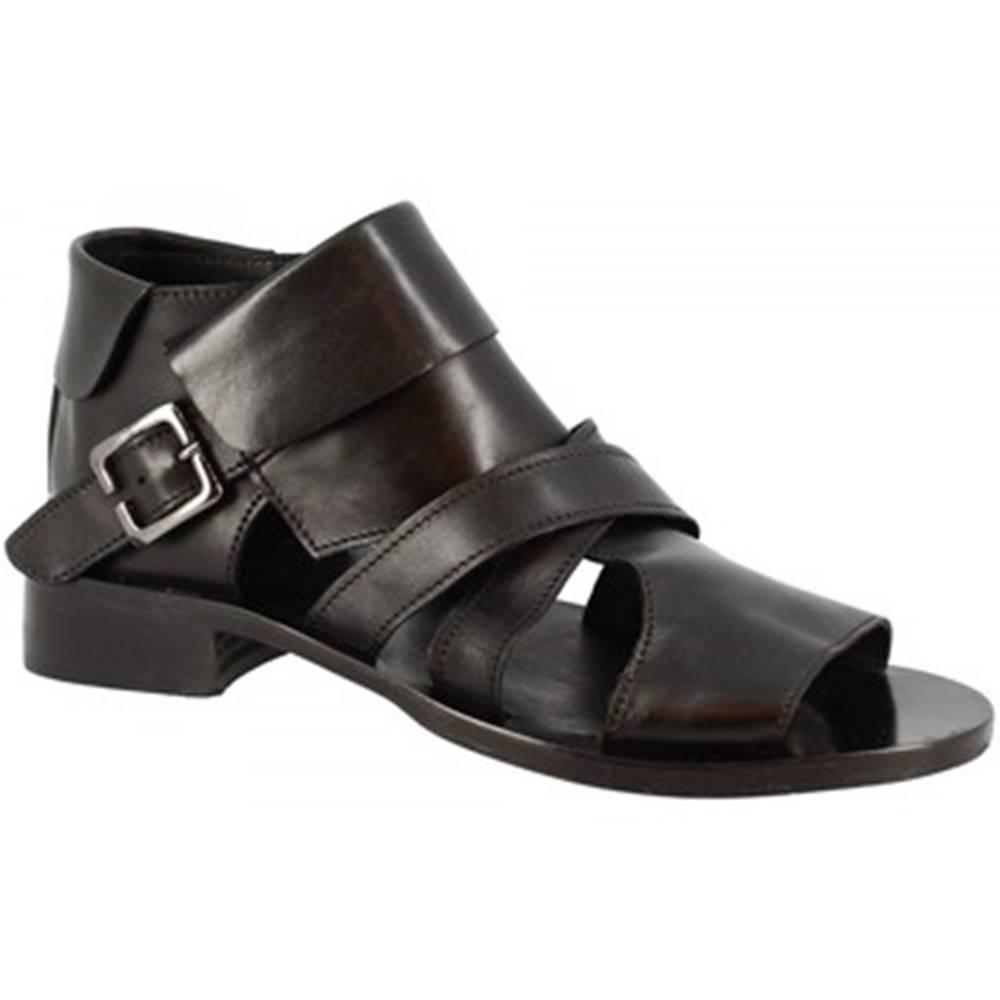 Leonardo Shoes Sandále Leonardo Shoes  K110 WASH NERO