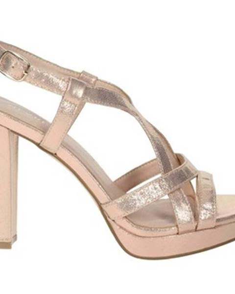 Ružové topánky Menbur