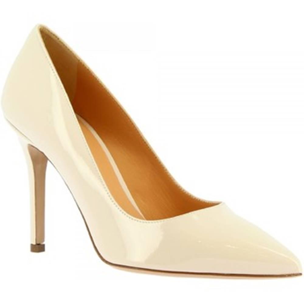 Leonardo Shoes Lodičky Leonardo Shoes  E9750 VERNICE PANNA