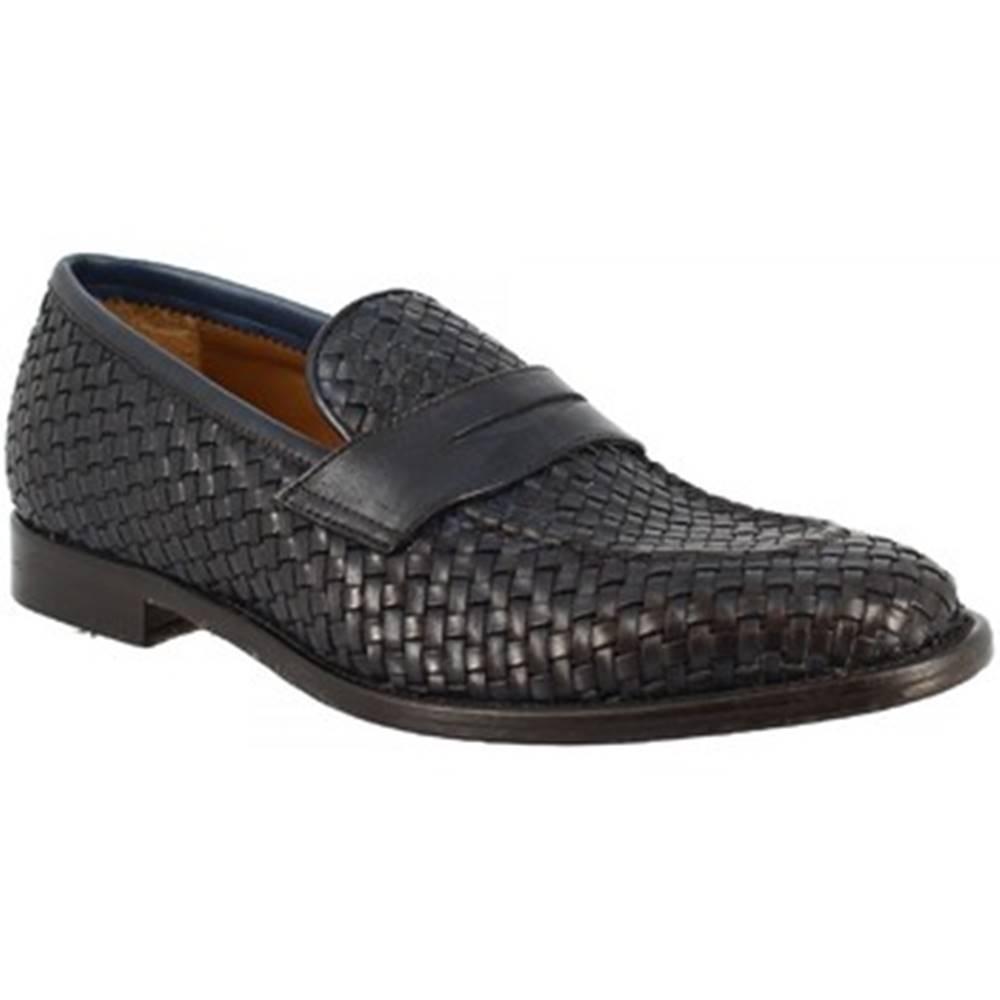 Leonardo Shoes Mokasíny Leonardo Shoes  1012_5IN PE VITELLO BLUE