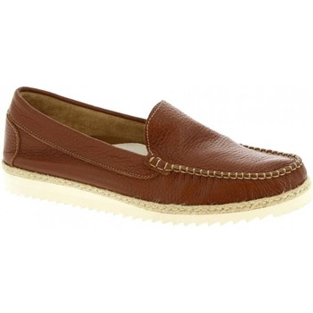 Leonardo Shoes Mokasíny Leonardo Shoes  239 VITELLO WOODY