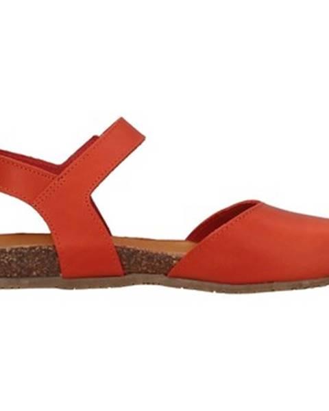 Oranžové topánky Bionatura