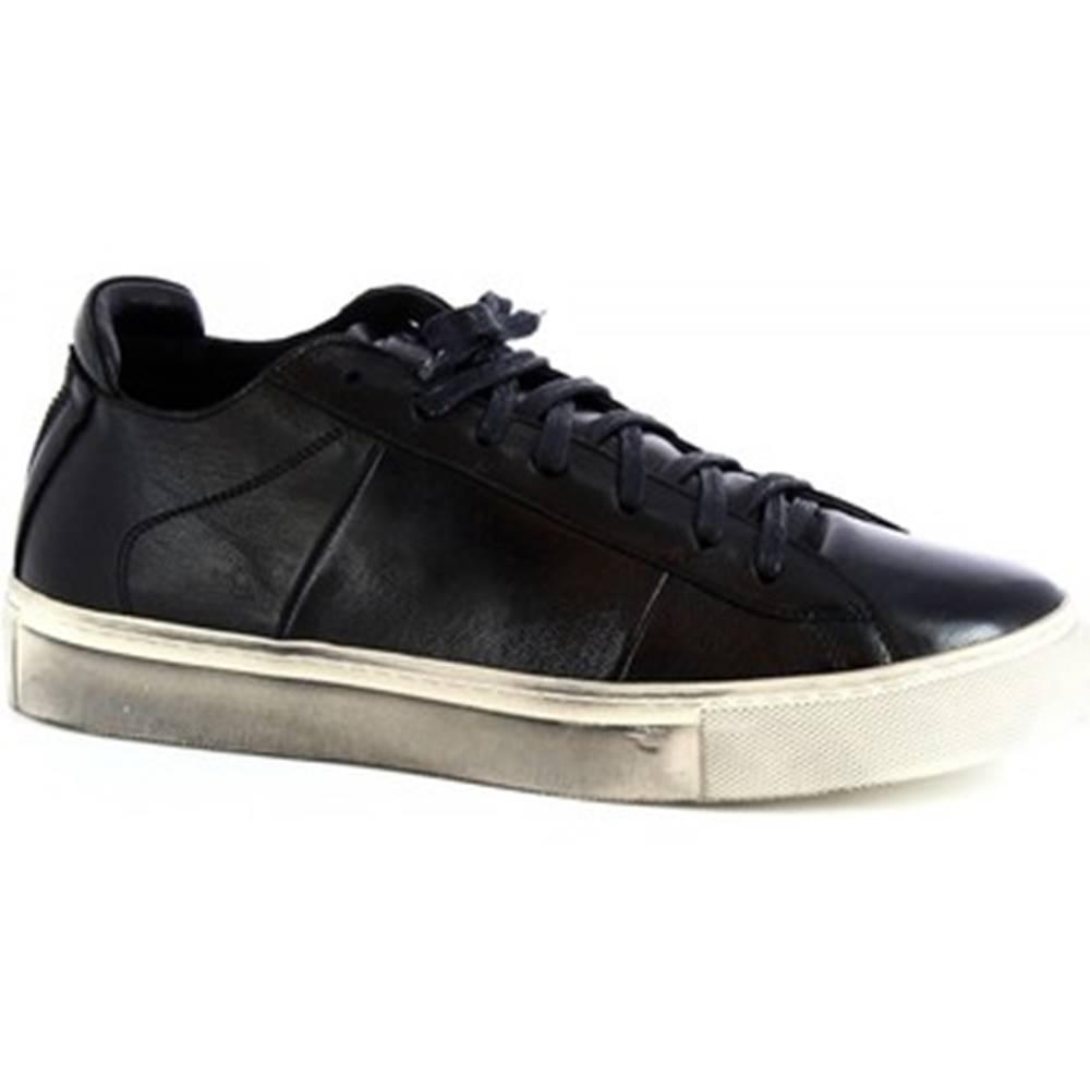 Leonardo Shoes Derbie Leonardo Shoes  MARCO/3 MONTONE NERO