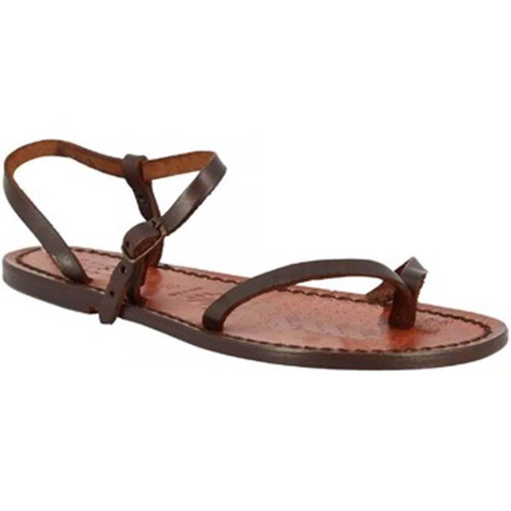 Leonardo Shoes Sandále Leonardo Shoes  _590_T.MORO