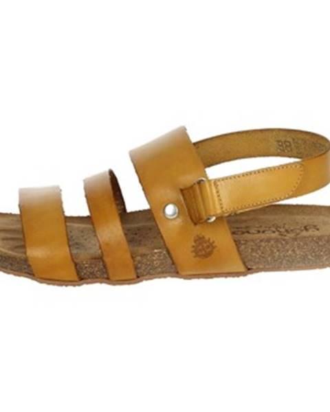 Béžové topánky Yokono