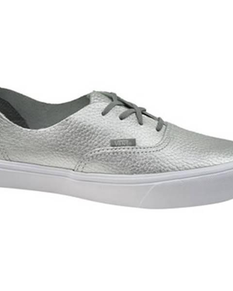 Strieborné topánky Vans