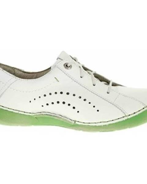 Biele topánky Josef Seibel