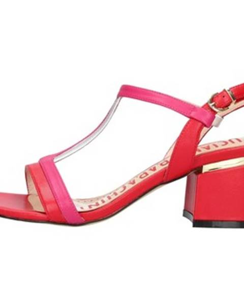 Červené topánky Luciano Barachini