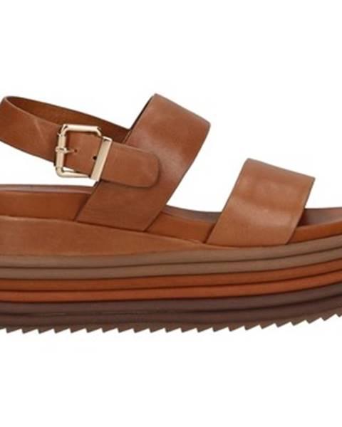 Hnedé topánky Rahya Grey
