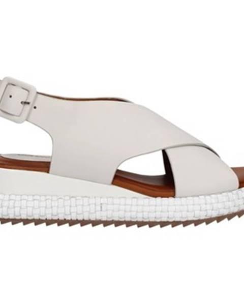 Biele topánky Rahya Grey