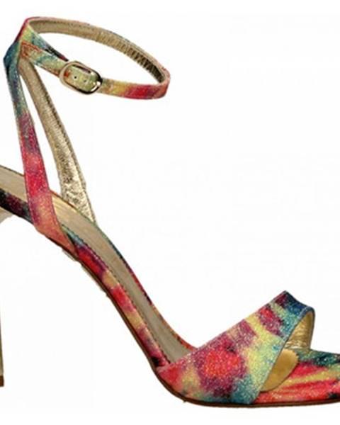 Viacfarebné topánky Ororo