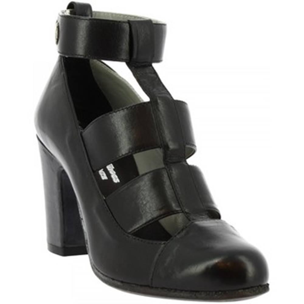 Leonardo Shoes Sandále Leonardo Shoes  W048-09 PERNOT NERO