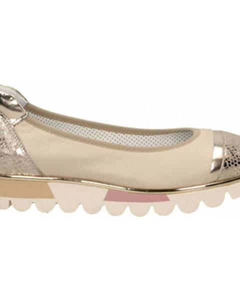 Béžové topánky Le Pepé