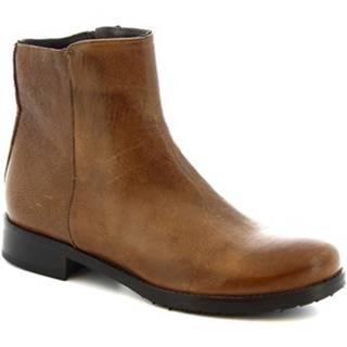 Polokozačky Leonardo Shoes  600 ROK T. MORO