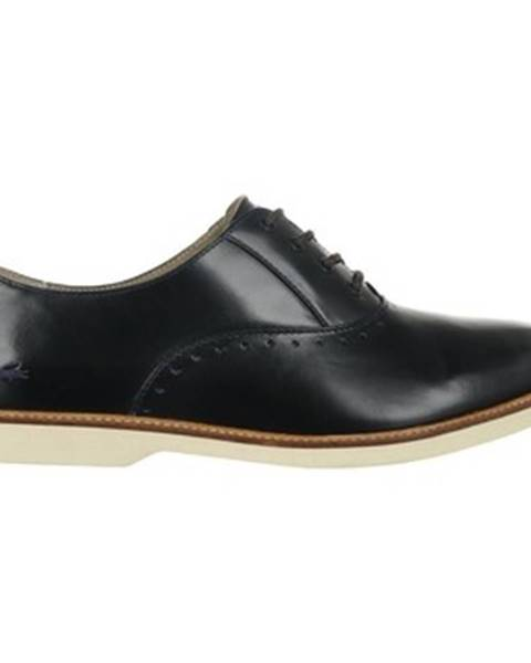 Čierne topánky Lacoste