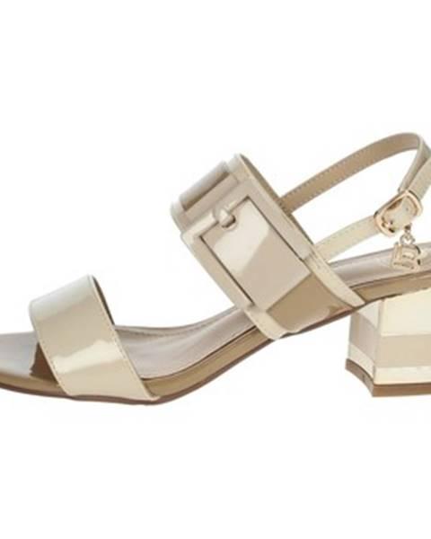 Béžové topánky Laura Biagiotti