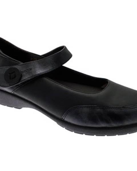 Čierne topánky Doctor Cutillas