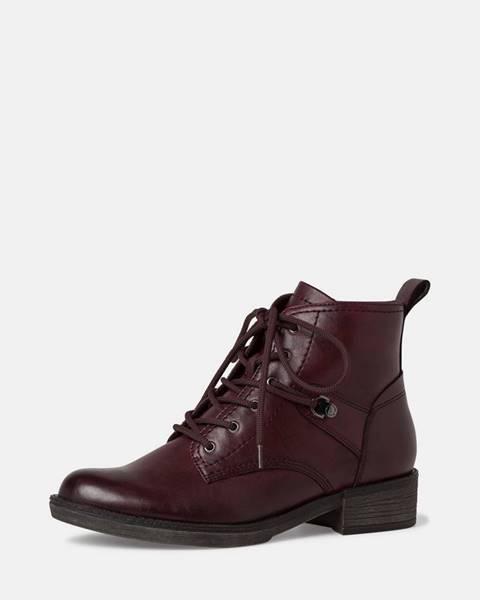 Vínové topánky Tamaris