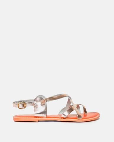 Zlaté sandále Dorothy Perkins